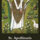 St. Apollinaris Prayer Card PC# 571