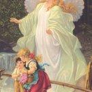 *SPANISH* Guardian Angel Prayer Card PC#589