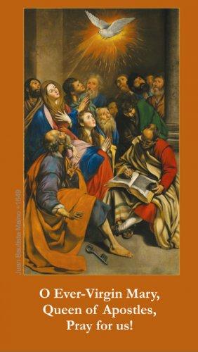 Mary, Queen of Apostles Prayer Card PC#612