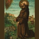 Wounds of St. Francis Holy Card PC#614