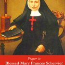 Blessed Mary Frances Schervier Prayer Card PC#384