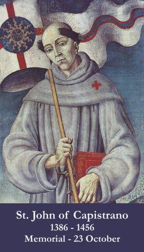 St. John of Capistrano Prayer Card PC#399