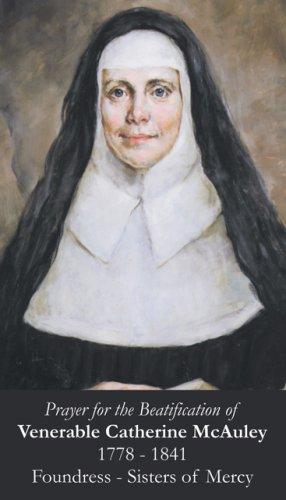 Venerable Catherine McAuley Prayer Card PC#403