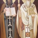 Saints Cyril & Methodius Prayer Card PC#407