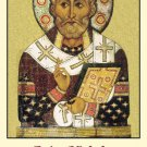 St. Nicholas Prayer for Children Holy Card PC#410