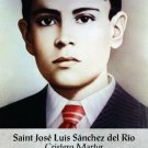 Saint Jose Luis Sanchez del Rio Prayer Card PC#424