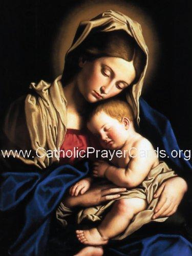 Memorare Prayer Card (LARGE) PC#444