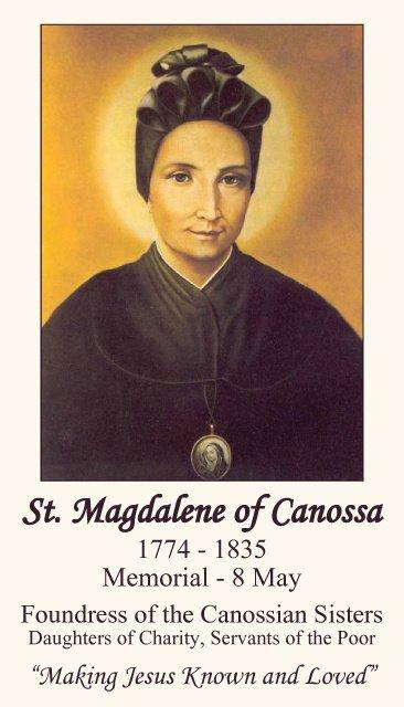 St. Magdalene of Canossa PC#452