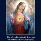 *SPANISH* Morning Offering Prayer Card PC#462