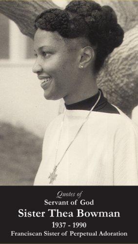 Servant of God Sister Thea Bowman PC#623