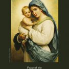 Holy Name of Mary Prayer Card PC#657