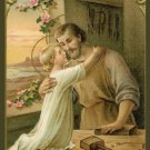 *SPANISH* Prayer of St. Joseph Holy Cards PC#704