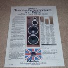 Celestion Ditton 662,551,442 Speaker Ad,Specs,Article