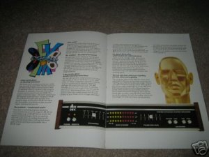 DBX Brochure from 1978,4 pages,128,3bx,II,118