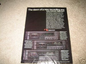 Nakamichi Tape Ad from 1980, 680zx,670zx,660zx,specs