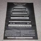 Tandberg TR 2080,2060,2045 Receiver Line Ad, 1978, RARE