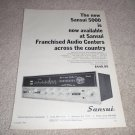 Sansui Stereo 5000 Receiver AD from 1968,specs #2