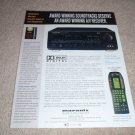 Marantz SR-880,RC2000 Receiver, remote Ad from 1998