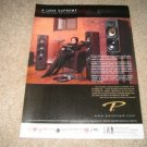 Paradigm Reference Ad from 2001 Vinyl, Coltrane in Ad