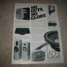 ADS L990 and L690 Speaker AD from 1987