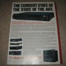 NAD CD PLAYER Monitor Series 1983 Ad