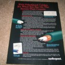 Audioquest Cables Video Two Ad from 1997