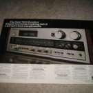 Sony 7800 Receiver Ad from 1977, 2pages,color!
