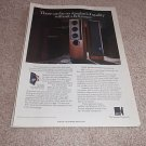 KEF 105/3 Uni-Q Ad from 1990, Reference! Nice Ad!