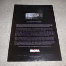 Nagra PL-P TUBE Preamp Ad from 1997,very rare!