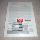 Yamaha CR-2020,1020,820,620 Receiver Ad from 1977