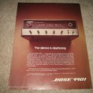BOSE 4401 QUAD Preamp AD from 1974,retro,nice!
