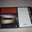Yamaha DSP-a1 Receiver Ad from 1997,RARE 2 pages, NICE!