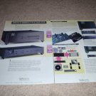 Wadia Digital 16 Cd Player, 17 D/a AD from 1994,2 pages