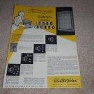 Electro-Voice Ad, Aristocrat, sp12b, T35 Horn Ad, Specs