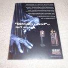 B&W Nautilus Speaker Ad from 1999, very rare!