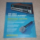 Kenwood KR-6160 Receiver Ad, 1971, Article, Specs