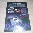Denon DCD-1800 CD Player ADS from 1985