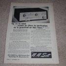 HH Scott 310 FM Tuner Ad, 1955,Article,Rare,Tubes,Specs
