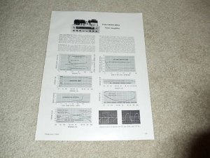 Fisher 500-C, 800-C Receiver Review, 2 pgs, 1964, Specs