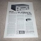 Altec Playback 360a Amp,314a FM Tuner  Royale II, ad 64