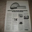 yamaha CR-800 Receiver Ad from 1975