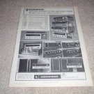 Kenwood Receiver Ad from 1969,KR-44,70,77,100,ka-6000