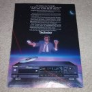Technics CD Player Ad, SL-P720,Article, Class AA, Rare!
