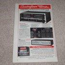 """Soundcraftsmen SP4002 Preamp/EQ,Equalizer Ad,1979,6""""x9"""""""