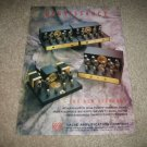 VAC Renaissance TUBE Amps Ad from 1994 +