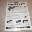 Dynaco Stereo 35,SCA-35,FM-3,PAS-3 Article,1 page 1965