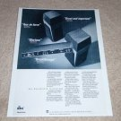 DBX Soundfield Ten,One Speaker Ad,1985,Article,Nice Ad!