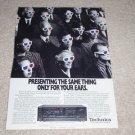 Technics SA-R477 Receiver Ad, 1989, Article, Rare Ad!