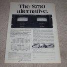 SAE 2400 Pro Amplifier Ad, 1975, Specs,Article, RARE!