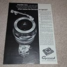 Garrard Type A Turntable Ad, 1964, Article, AT-6